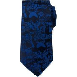 DC Universe Blue Batman Comic Tie