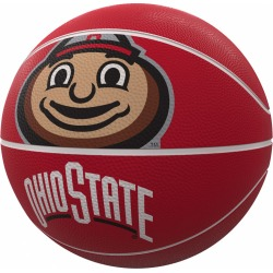 Ohio State Mascot Official-Size Rubber Basketball