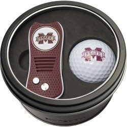 Tin Gift Set with Switchfix Divot Tool and Golf Ball Mississippi State Bulldogs found on Bargain Bro Philippines from balfour for $31.25
