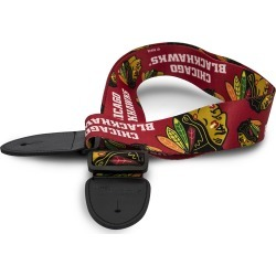 Chicago Blackhawks Guitar Strap
