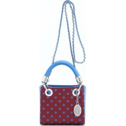 Ladies Maroon & Blue Small Satchel Top Handle Purse - Jacqui by SCORE! The Official Game Day Bag