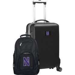 Northwestern Deluxe 2-Piece Backpack and Carry on Set