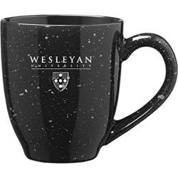 Wesleyan University - 16-ounce Ceramic Coffee Mug - Black