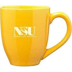Norfolk State University - 16-ounce Ceramic Coffee Mug - Gold