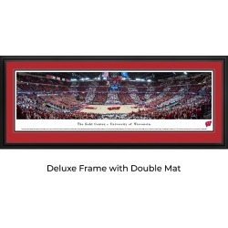 Wisconsin Badger Basketball - Panoramic Print