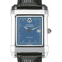 Columbia University Men's Blue Quad Watch with Leather Strap by M.LaHart & Co. found on Bargain Bro India from balfour for $275.00