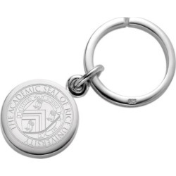 Rice University Sterling Silver Insignia Key Ring by M.LaHart & Co.