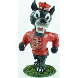 "North Carolina State 8"" Painted Resin Mascot Figurine Oxbay by Seasons Designs"