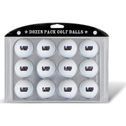 12 Pack Golf Balls LSU Tigers