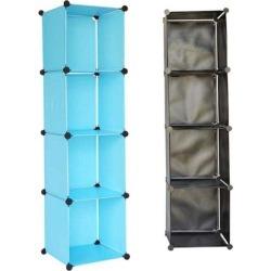 Snap Cubes - College Dorm Tower Organizer - Aqua