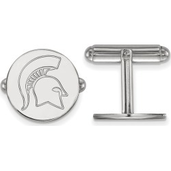 MSU Sterling Silver Cufflinks found on MODAPINS from balfour for USD $80.99