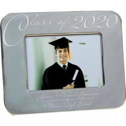 Engraved Class Of Graduation Picture Frame 5x7