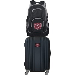 NCAA Missouri State University Bears 2 Piece Set Luggage and Backpack by Mojo Licensing