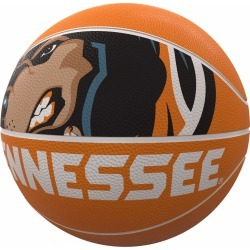 Tennessee Mascot Official-Size Rubber Basketball