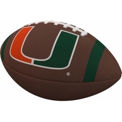 Miami Team Stripe Official-Size Composite Football