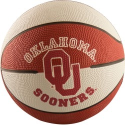 Oklahoma Mini-Size Rubber Basketball