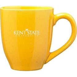 Kent State University - 16-ounce Ceramic Coffee Mug - Gold