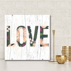 LOVE  Gallery-Wrapped Canvas Wall Art