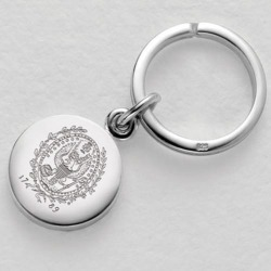 Georgetown Sterling Silver Insignia Key Ring by M.LaHart & Co.