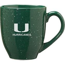 University of Miami - 16-ounce Ceramic Coffee Mug - Green