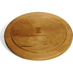 University of Illinois Round Bread Server by M.LaHart & Co.
