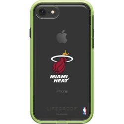 LifeProof Night Flash iPhone 8 and iPhone 7 SLAM series case with Miami Heat