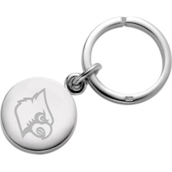 University of Louisville Sterling Silver Insignia Key Ring by M.LaHart & Co.
