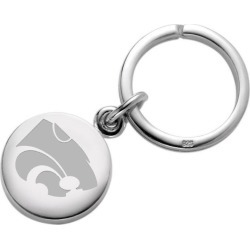 Kansas State University Sterling Silver Insignia Key Ring by M.LaHart & Co.