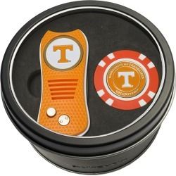 Tin Gift Set with Switchfix Divot Tool and Golf Chip Tennessee Volunteers found on Bargain Bro Philippines from balfour for $31.25