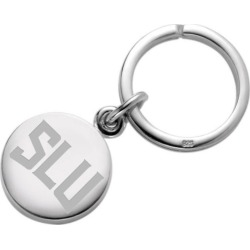 Saint Louis University Sterling Silver Insignia Key Ring by M.LaHart & Co.