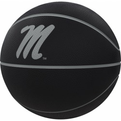 Ole Miss Blackout Full-Size Composite Basketball
