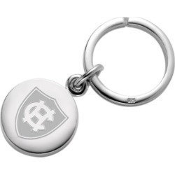 Holy Cross Sterling Silver Insignia Key Ring by M.LaHart & Co.