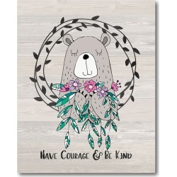 Courageous Musings Canvas Wall  (16