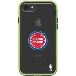 LifeProof Night Flash iPhone 8 and iPhone 7 SLAM series case with Detroit Pistons