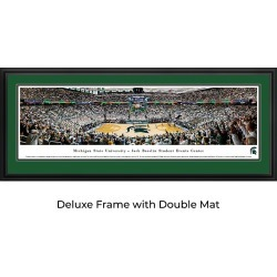 Michigan State Spartans Basketball - Panoramic Print