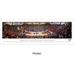 Virginia Tech Hokies Basketball - Unframed Panoramic Poster