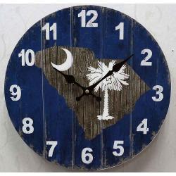 Palmetto 13.5 MDF Clock Oxbay by Seasons Designs