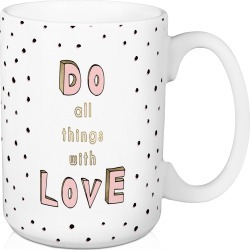Love Opens Hearts 15oz Coffee Mug