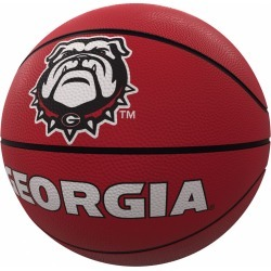 Georgia Mascot Official-Size Rubber Basketball