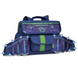 Bixbee LED Space Racer Flyer Blue Backpack (Small) found on Bargain Bro India from balfour for $74.75