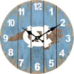 North Carolina State Map 13.5 MDF Clock Oxbay by Seasons Designs