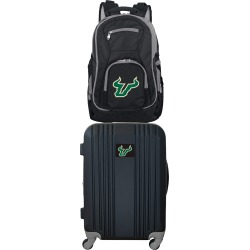 NCAA South Florida Bulls 2 Piece Set Luggage and Backpack by Mojo Licensing