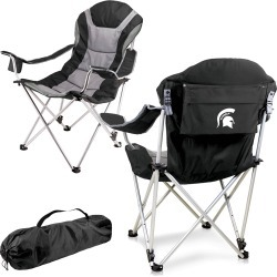Michigan State Spartans - Reclining Camp Chair (Black) found on Bargain Bro India from balfour for $144.99