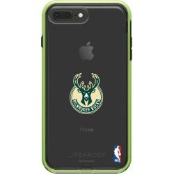 LifeProof Night Flash iPhone 8 Plus and iPhone 7 Plus SLAM series case with Milwaukee Bucks