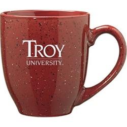 Troy University - 16-ounce Ceramic Coffee Mug - Burgundy