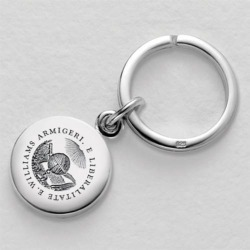 Williams College Sterling Silver Insignia Key Ring by M.LaHart & Co.