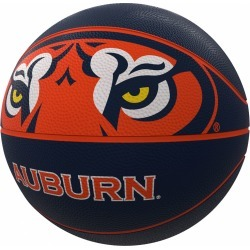 Auburn Mascot Official-Size Rubber Basketball