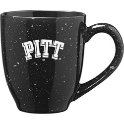 University of Pittsburgh - 16-ounce Ceramic Coffee Mug - Black