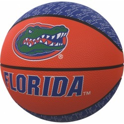 Florida Repeating Logo Mini-Size Rubber Basketball