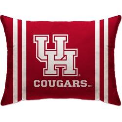 NCAA Plush Bed Pillow Houston  20 x 26